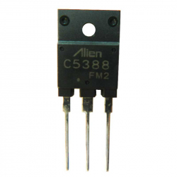 2SC5388-ALIEN - NPN Darlington Transistor with Integrated Damping Diode 1500/700 V, 5 A, 50 W