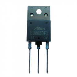 BU808DFX-ALIEN - NPN Darlington Transistor with Integrated Free Wheeling Diode 1500/700 V, 5 A, 50 W