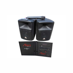 Set of 2 ABS 6.5'' Speakers 1265 USB/SD/FM/BT