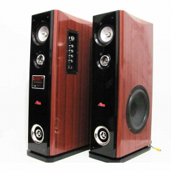 Set of 2 Tower Speakers USB/SD/MP3/BT/2mic