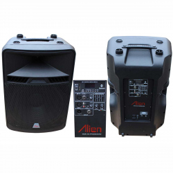 Active ABS Enclosure for 18'' ABS Speakers 4218 USB/FM/BT
