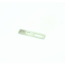 Rectangular Metal Fixing Plate With Hole Bracket 5x20