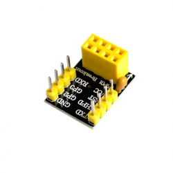 Adapter Board for ESP-01 and ESP-01S Modules