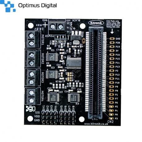 All-in-one Robotics Board for BBC micro:bit