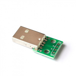USB A Male Breakout Board