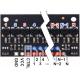 QTRX-HD-25RC Reflectance Sensor Array: 25-Channel, 4mm Pitch, RC Output, Low Current