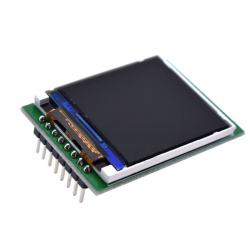 1.44'' LCD for STC, STM32 and Arduino Boards (3.3 V)