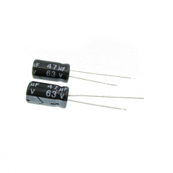 Electrolytic Capacitor 47 uF, 63 V