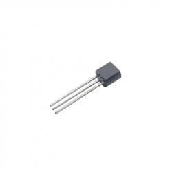 UA78L08 - Voltage Regulator 8 V, 0.1 A, THT, TO92