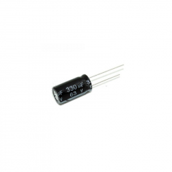 Electrolitic Capacitor 330 uF, 63 V