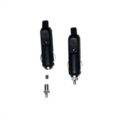 Automotiive Lighter Socket with Fuse and LED