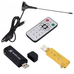Tuner TV USB DVB-T RTL2832U + R820T (compatibil cu RTL-SDR - Software Defined Radio)