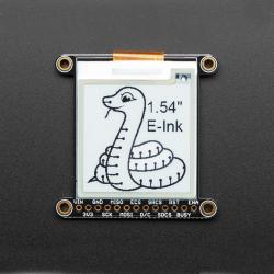 "Display monocrom eInk / ePaper Adafruit 1.54"" cu memorie SRAM"