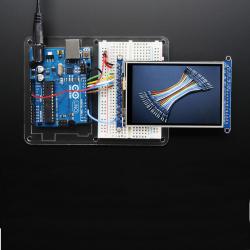 """3.5"""" TFT 320x480 + Touchscreen Breakout Board w/ MicroSD Socket"""