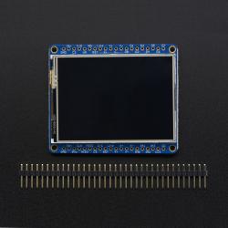 """Adafruit 2.4"""" TFT LCD with Touchscreen Breakout w/ MicroSD Socket"""