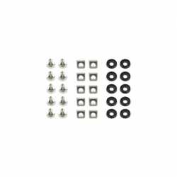 19'' rack mounting set (bolt, nut, washer), 50 pcs set
