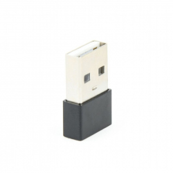USB 2.0 AM to Type-C female adapter, black
