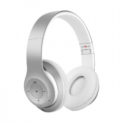 "Bluetooth stereo headset ""Milano"", silver-white"