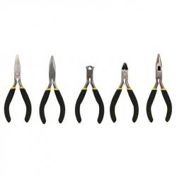 """5 Velleman Mini Pliers Set (One Plier Missing 110 mm 4 1/2"""")"""