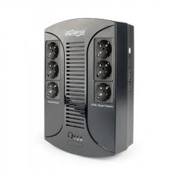 UPS with AVR, 850 VA, 6 Schuko Sockets, USB