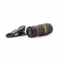 Optical zoom lens for smartphone camera, 8X zoom
