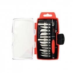 Precision knife set, 16 pcs