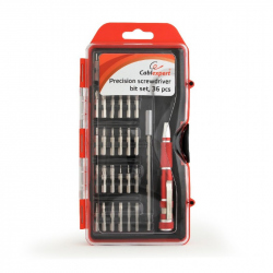 Precision screwdriver bit set, 36 pcs
