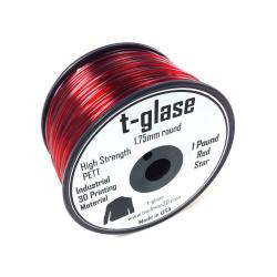 Taulman t-glase PETT Red 1.75mm filament