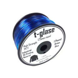 Taulman t-glase PETT Orion Blue 1.75mm filament