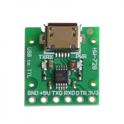 CH340E Micro USB to Serial Converter