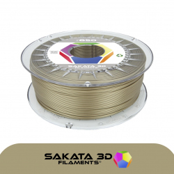 Sakata 3D Ingeo 3D850 PLA Filament - Gold 1.75 mm 1 kg
