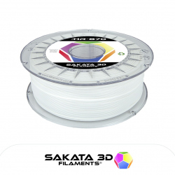 Sakata 3D Ingeo 3D870 HR PLA Filament - White 1.75 mm 1 kg