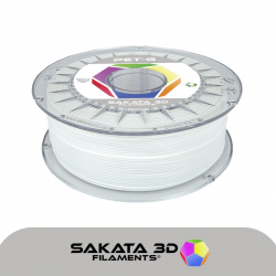 Sakata 3D PETG White Filament 1.75 mm 1 kg