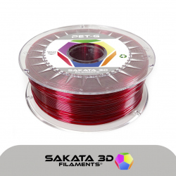 Sakata 3D PETG Ruby Filament 1.75mm 1 kg