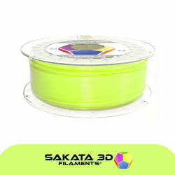 Sakata 3D Ingeo 3D850 PLA Fluorescent Filament - Quartz Lime 1.75 mm 1 kg