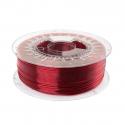 Filament PETG 1.75mm TRANSPARENT RED 1kg