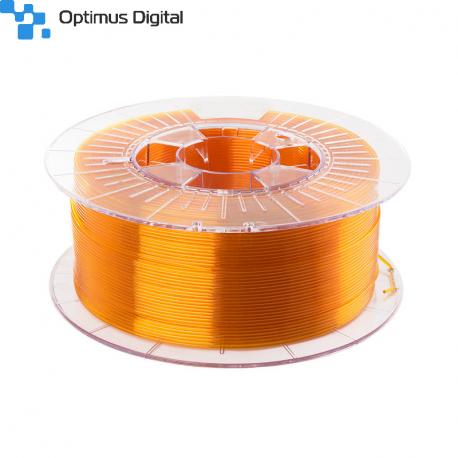 Filament PETG 1.75mm TRANSPARENT YELLOW 1kg