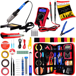 Plusivo Soldering Iron Kit with Digital Multimeter