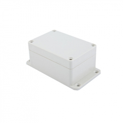 Waterproof White Plastic Case (123x68x50 mm)