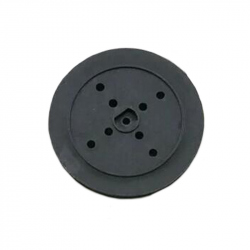 36 mm Black Pulley Wheel