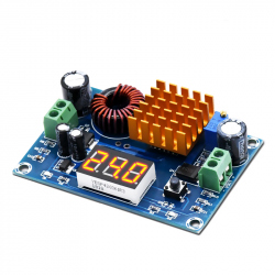 M411 Adjustable Step-up DC-DC Power Supply Module (5 - 45 V, 5 A)