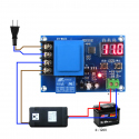 M602 Battery Charging Controller with Protection for the 230 VAC Power Supply (for 3.7 - 120 V Battery)