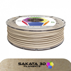 PLA Sakata 3D TEXTURE Wood Maple Filament 1.75mm 500 g