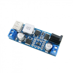 Step-down DC-DC Power Supply Module, 6 A (Input: 9 - 36 V, Output: 5 V)