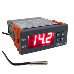 W2024 Temperature Controller with One Output for Heating and One Output for Cooling (12 V)
