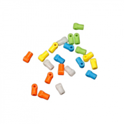 Orange T-shaped Plastic Coupling Device