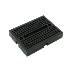 SYB-170 Colored Mini Breadboard (black)