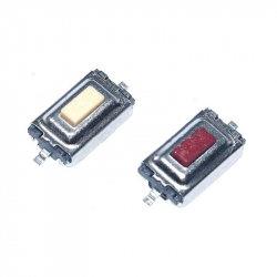 3 x 6 x 2.5 mm SMD Button (Red)