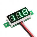 0-30 V Green Panel Voltmeter