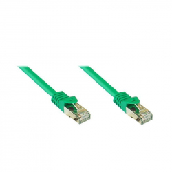 15 meters CAT7 SFTP 27AWG Patch Cable Green